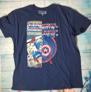 Marvel Captain America adult tee size XL